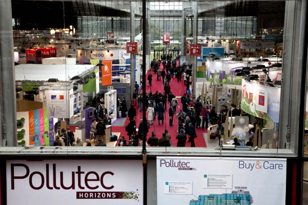 Pollutec Horizons 2011 (パリ・エネルギー・環境総合展示会)