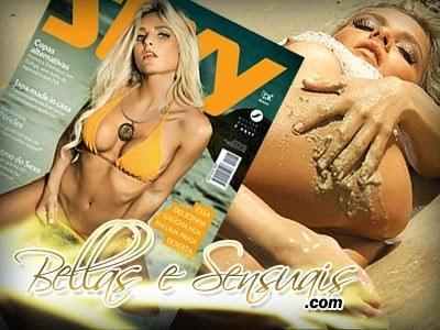 Niege Menegat - Fotos Digitais - Revista Sexy - Setembro 2014