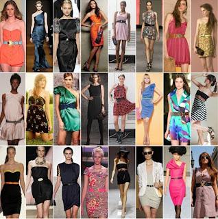 modelos de vestidos com cintos