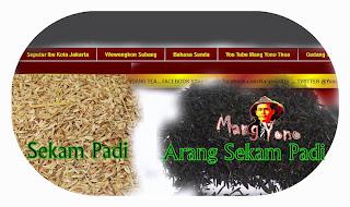 Cara membuat arang sekam padi