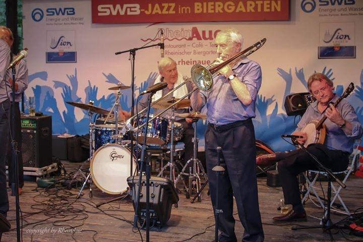 Concert Jazz im Biergarten Bonn 3 juli 2015