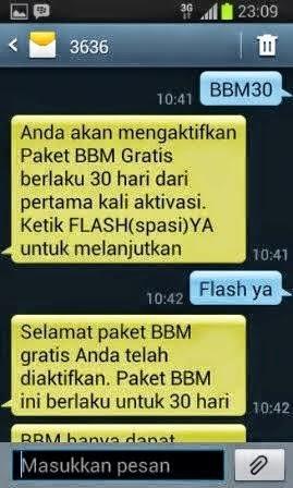Cara BBM-an Android Gratis di Telkomsel