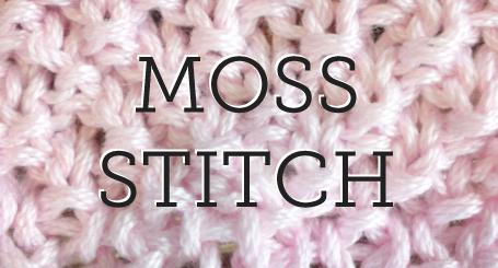 double moss stitch instructions