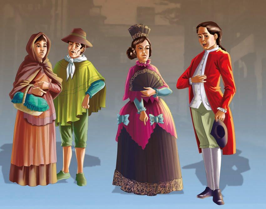 Otro De Los Grupos Que Integraban La Sociedad Colonial Era El De Los