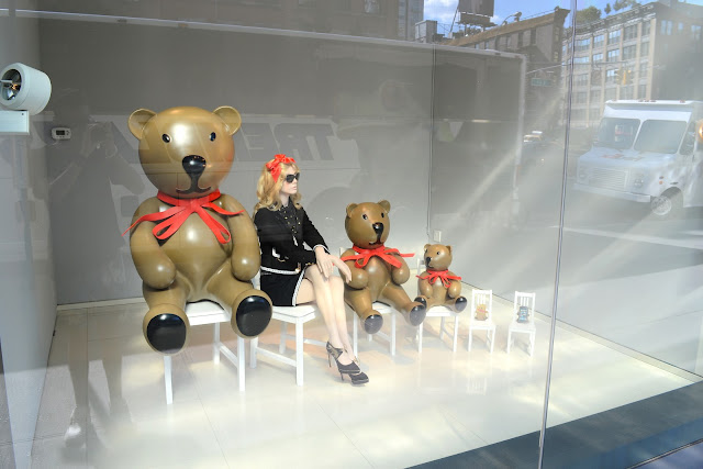 moschino window