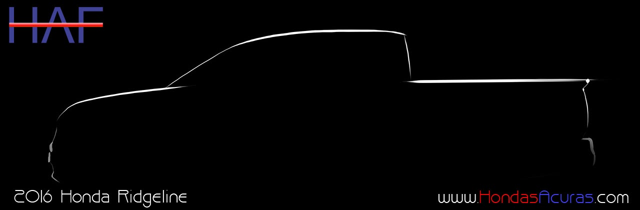 2016 Honda Ridgeline Spy
