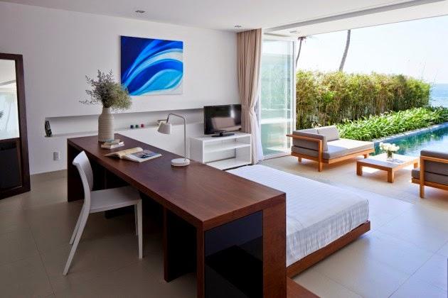 Diseno De Baños Con Jardin: los baños con ventilación natural a través de persianas de madera