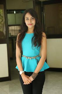 Kenisha Chandran Stills At Jagannatakam Movie Release Press Meet 1.jpg