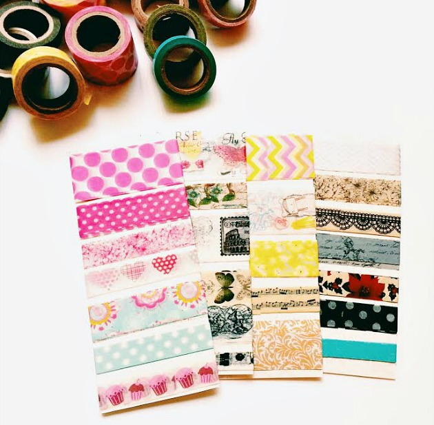 Washi tape samples / Seaweed Kisses