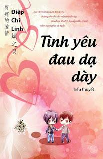Bìa sách Tình yêu đau dạ dày