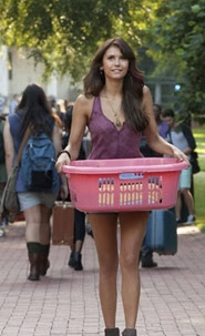 "Elena's Ecote Silky Jacquard Tank Top on The Vampire Diaries Season 5, Episode 1: ""I Know What You Did Last Summer"""