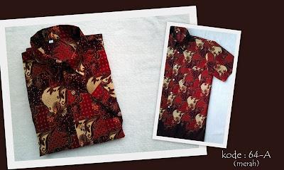Baju Batik Pria 64A