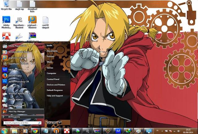 Fullmetal Alchemist [ Theme Win 7 ] 1
