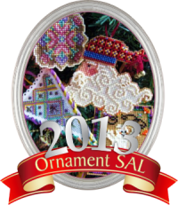 Christmas Ornie SAL 2014