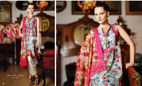 NishatLinen Summer Lawn 2014