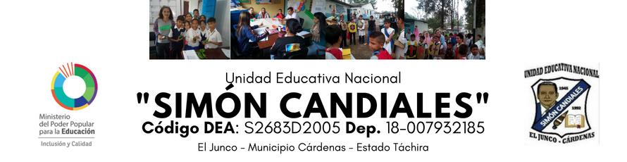 """Unidad Educativa Nacional """"Simón Candiales"""""""