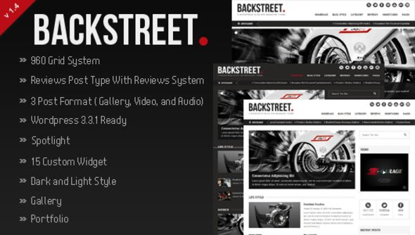 backstreet,wp themes,image