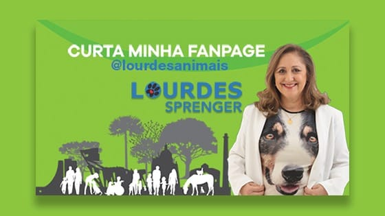 Vereadora Lourdes Sprenger e a Causa Animal