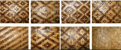 profil dusun jetak sidokarto: kerajinan anyaman bambu