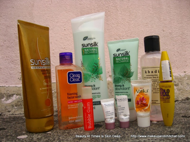 Empties of April 2014