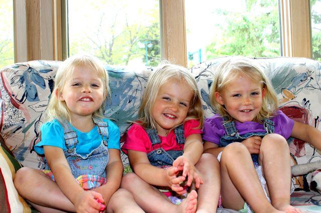Identical Triplets Girls