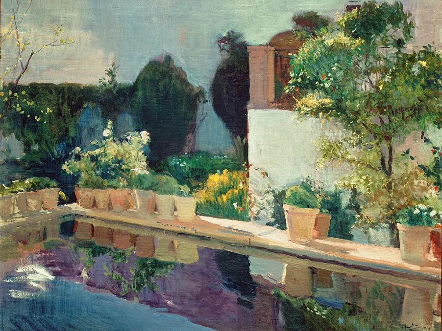 Madrid wiki sorolla jardines de luz for Jardin de luz