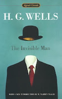 Book cover for The Invisible Man by H.G. Wells