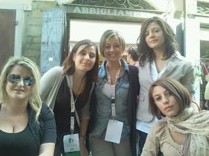 Scuola di formazione politica a Cortona. Con le mie amiche.