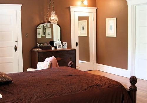 Decoracion actual de moda paredes pintadas de chocolate for Actual muebles