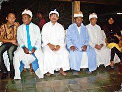 Bersama Tetua Adat Ternate