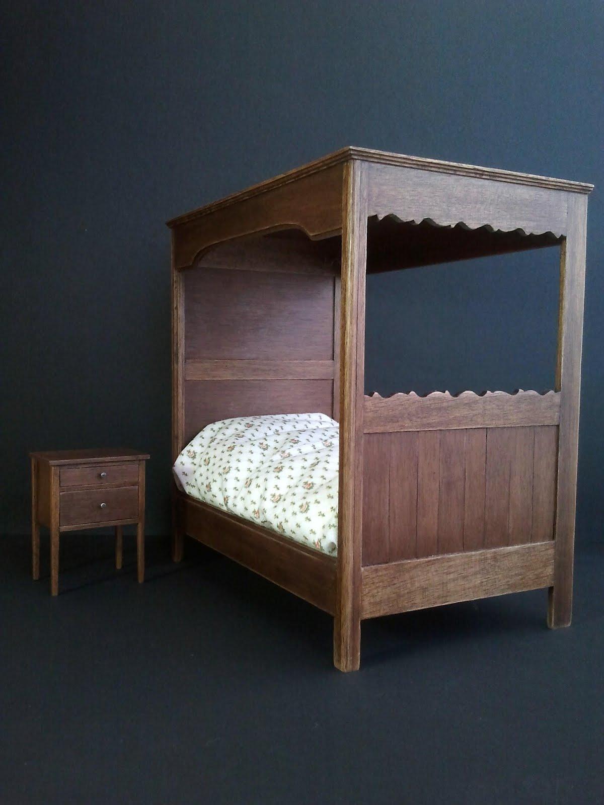 Muebles en miniatura miniature furniture mueble para - Mueble de dormitorio ...