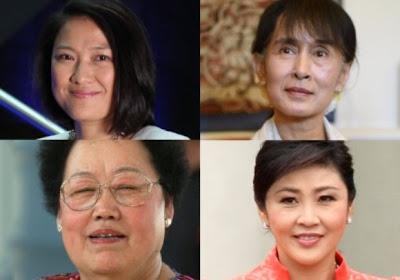 အာရွ၏ၾသဇာအႀကီးဆုံးအမ်ဳိးသမီး ၁၁ ဦးတြင္ ေဒၚေအာင္ဆန္းစုၾကည္ ပါ၀င္ – Asia's Most Powerful Women