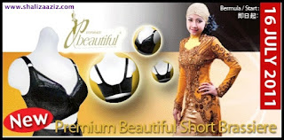 short bra, premium beautiful, langsing, ramping