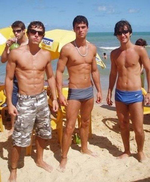 from Rowen gay guys on beach