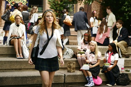 As you know from here Blair is my favourite character, Ithink she is ... Serena Van Der Woodsen And Blair Waldorf Met Steps