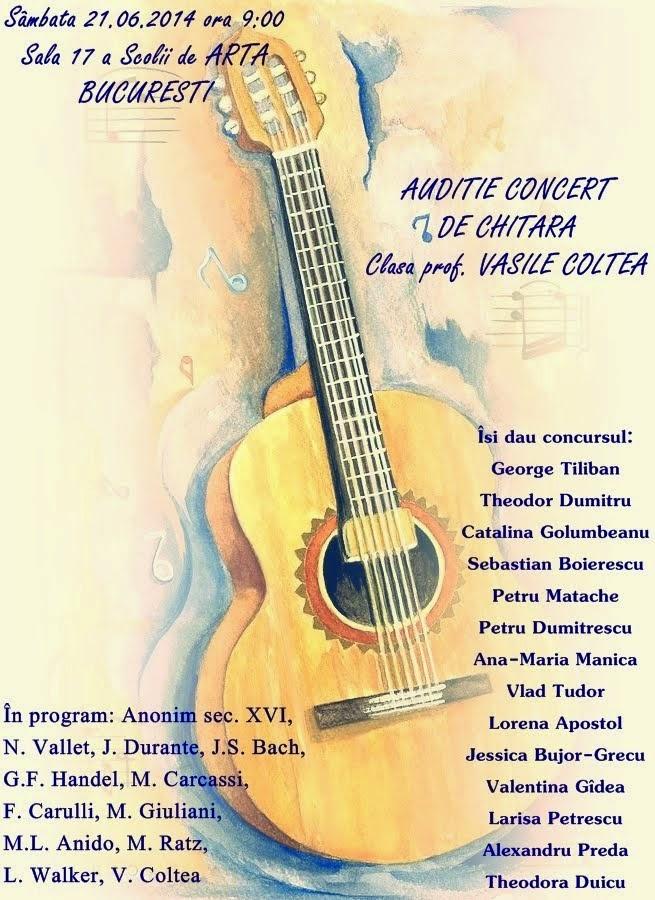 Concert chitara