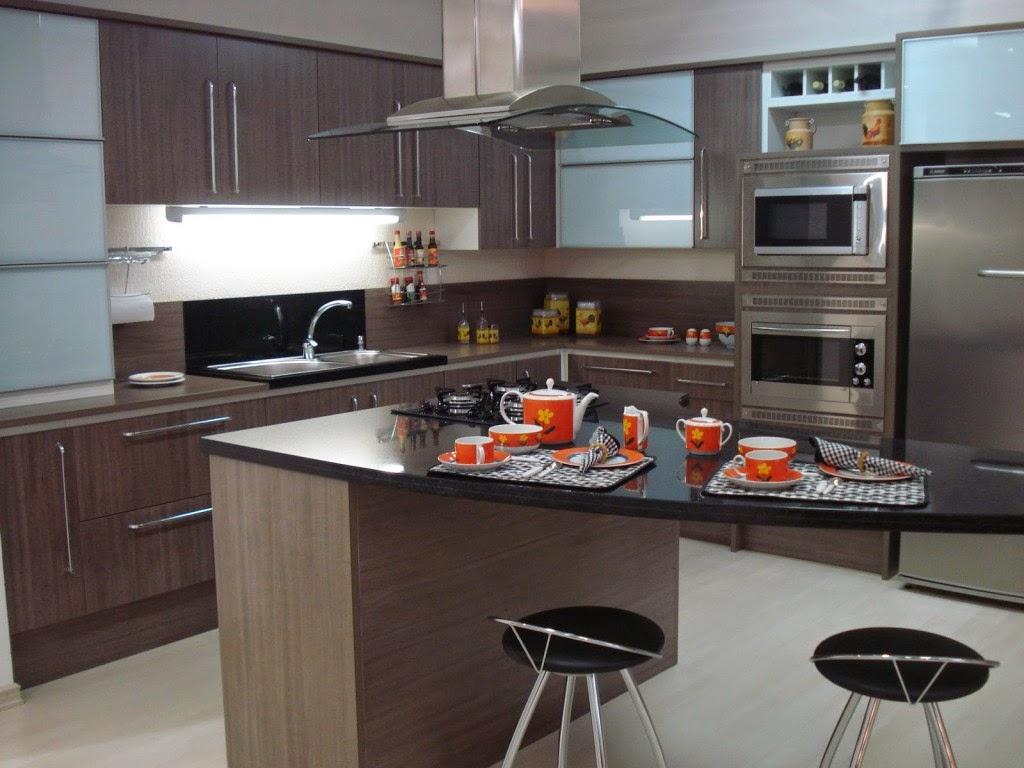 Cozinhas grandes planejadas #4E6D7D 1024 768