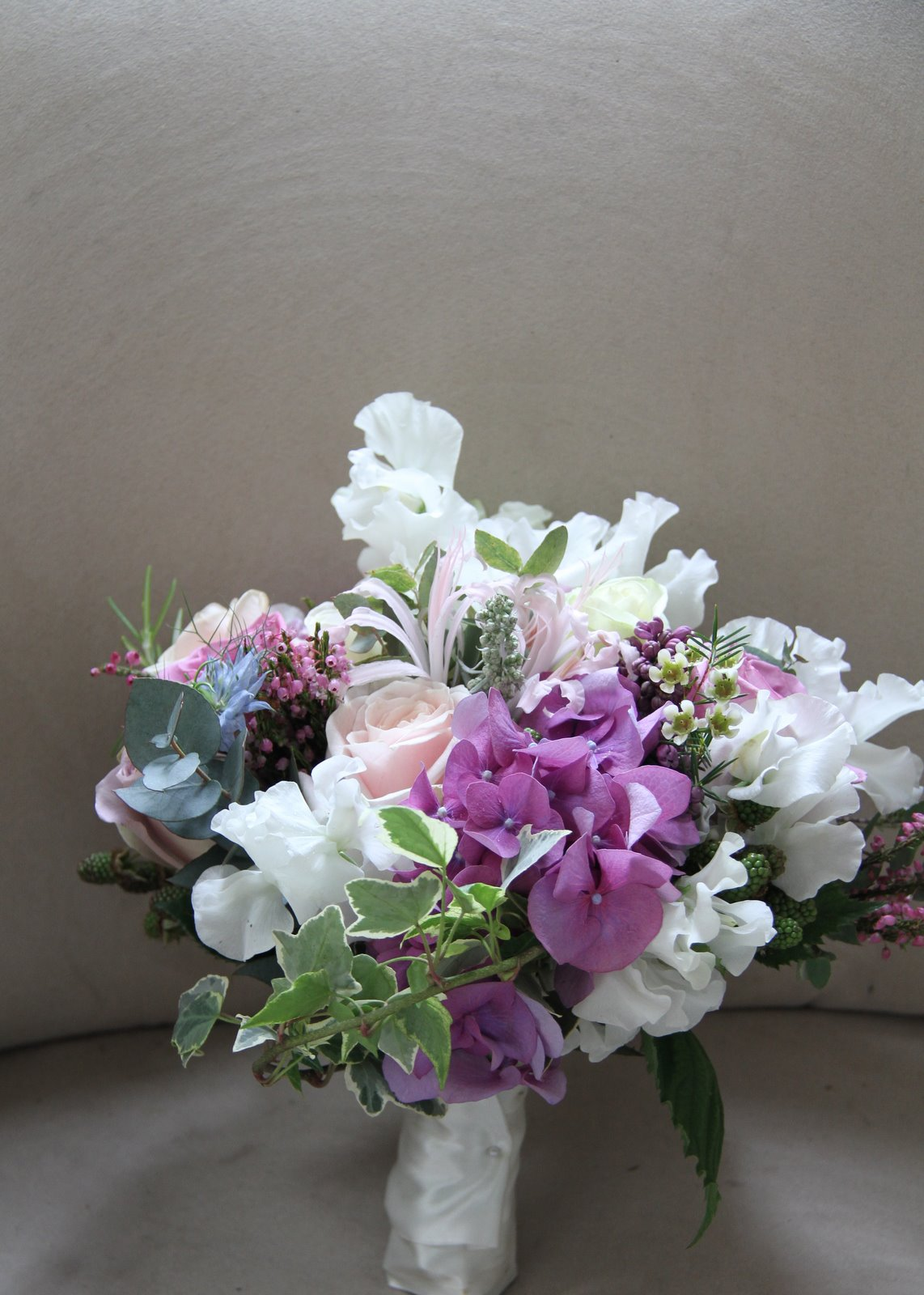 Used A Fabulous Combination Of Flowers To Create This Wedding