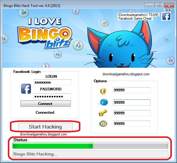 BINGO BLITZ HACK TOOL VER. 4.9 [2013] : DOWNLOAD HACK CHEAT GAME