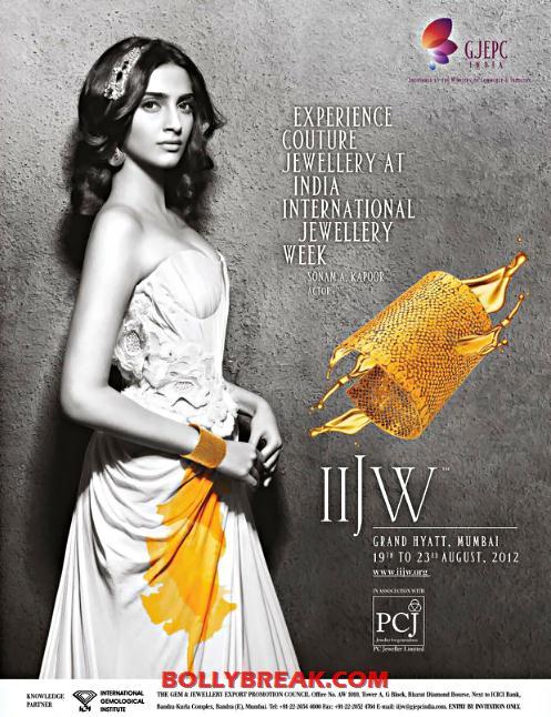 , Sonam Kapoor Iijw Fashion Week