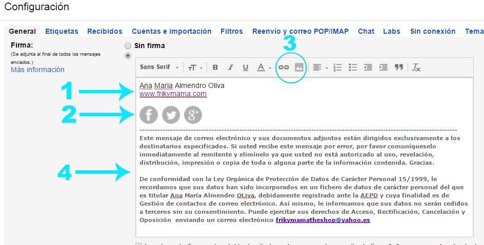 Cómo añadir una firma automática para tu correo Gmail y Yahoo ...