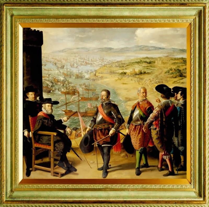 Defensa de Cádiz contra los ingleses, Francisco de Zurbarán (http://www.deyave.com/)