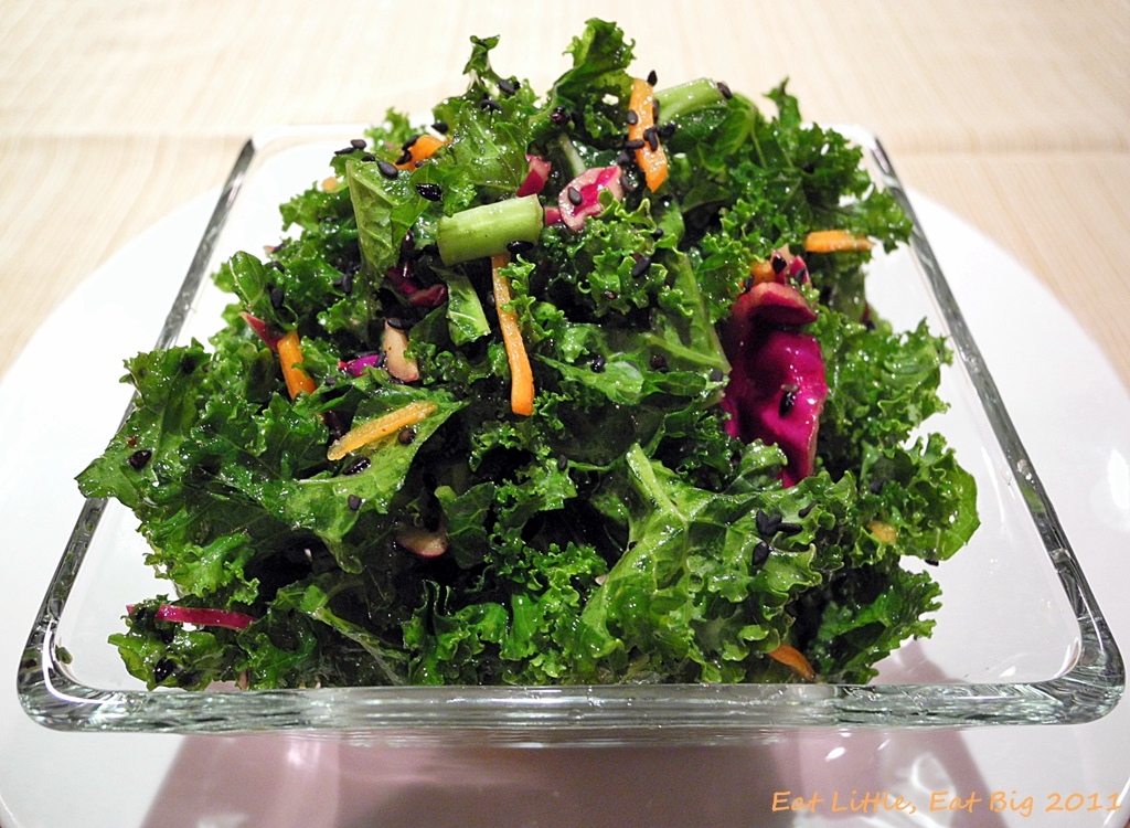 Recipe for Asian Kale Salad | Eat Little, Eat Big