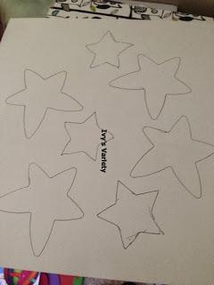 Stars from stencils