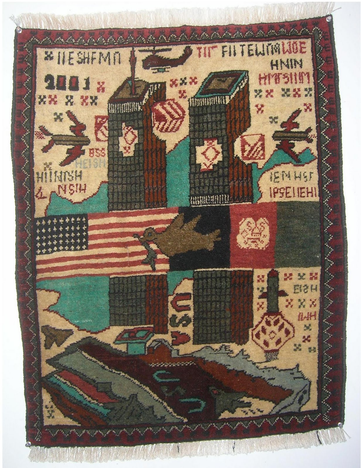 9 11 War Rugs Then And Now