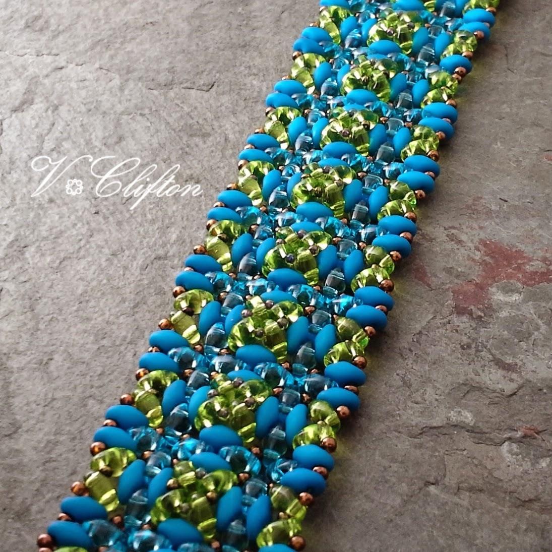 Hortus bracelet in my ArtFire studio