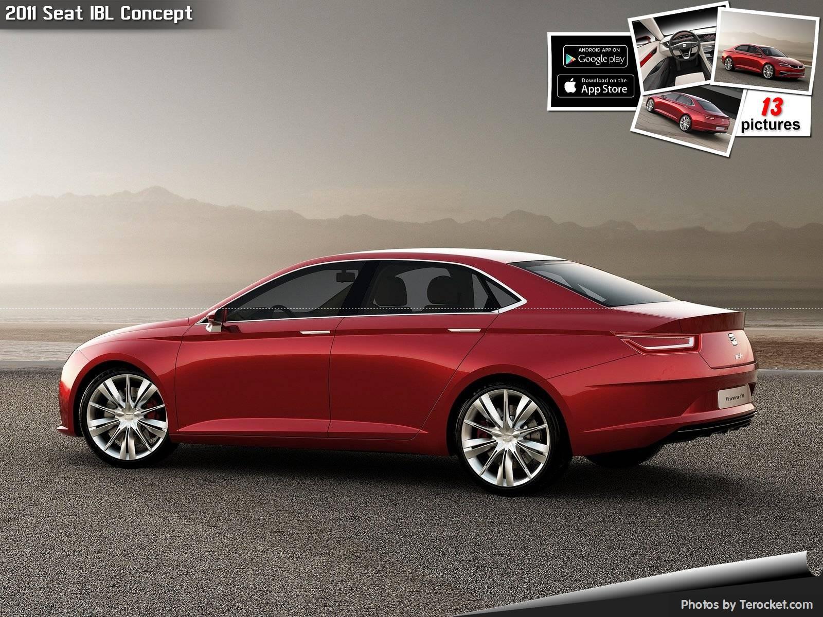Hình ảnh xe ô tô Seat IBL Concept 2011 & nội ngoại thất