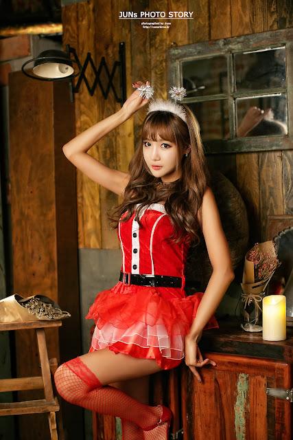 3 Jo In Young - merry christmas - very cute asian girl-girlcute4u.blogspot.com