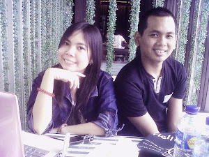 Ronskie Tambunan with Cindy