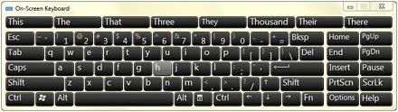 Cara memunculkan keyboard aplikasi di windows